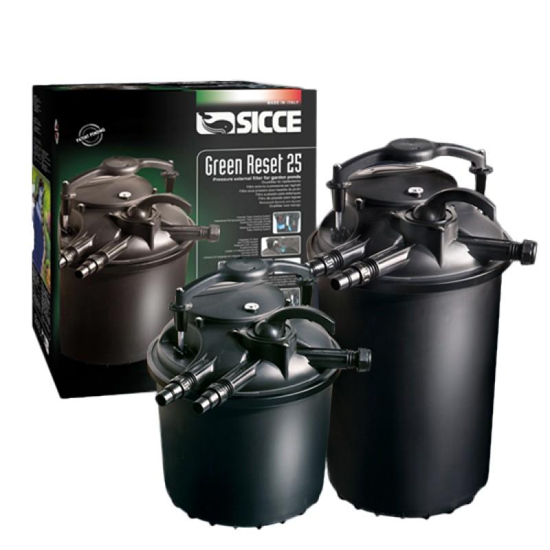 Filtro Biológico Green Reset Sicce 60L y 100L