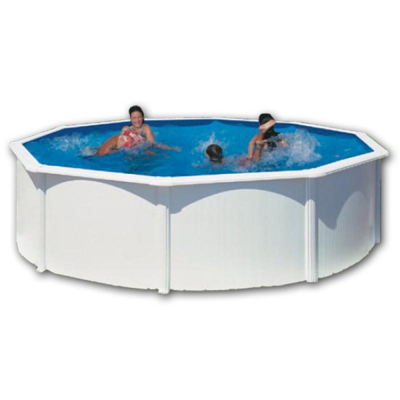 Instalaci n de acero circular 460 x 120 outlet piscinas - Instalacion piscina ...