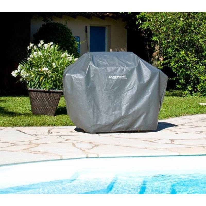 Funda cubre barbacoa universal l outlet piscinas - Funda para barbacoa ...
