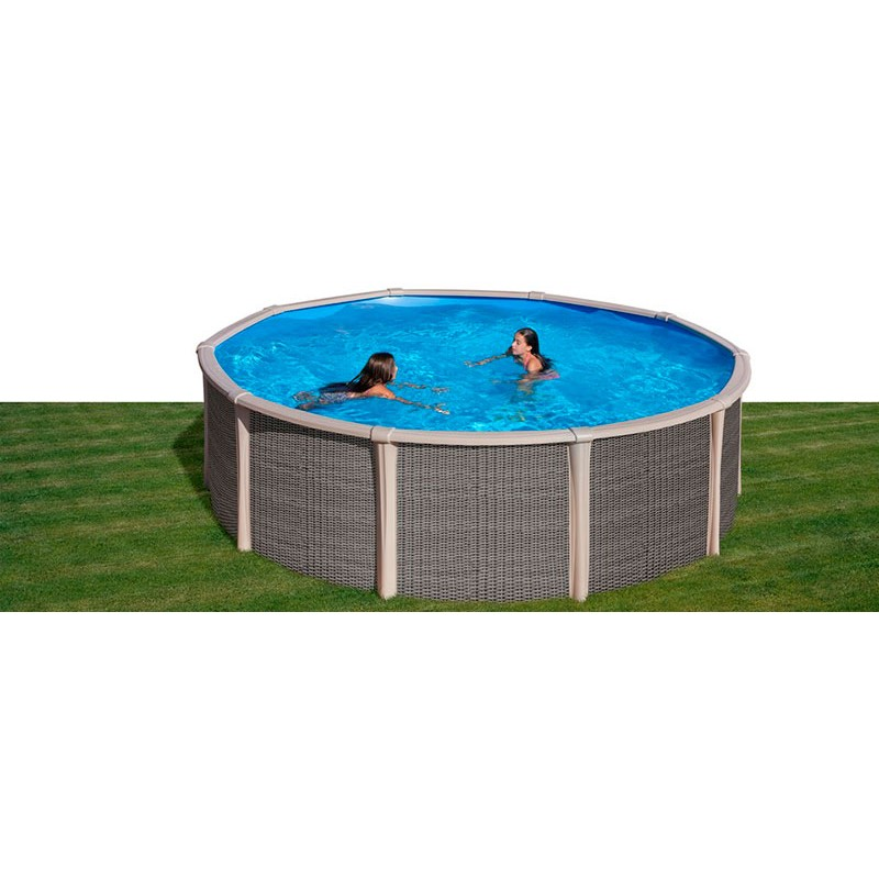 Piscina híbrida Fusion Pool circular