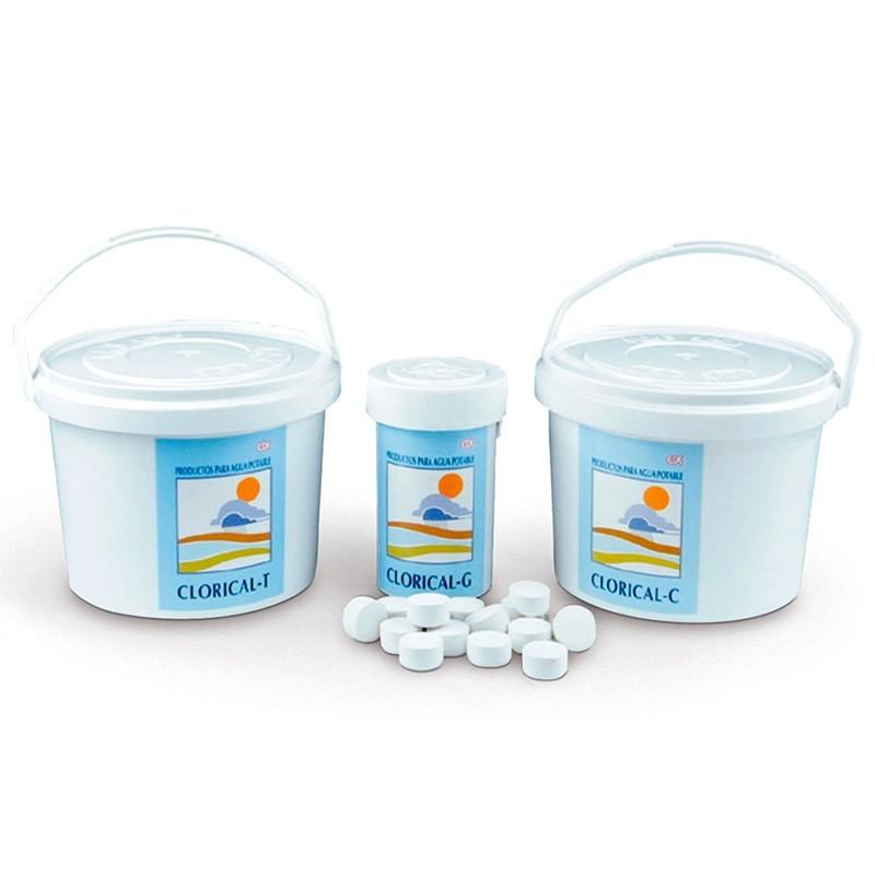 Hipoclorito cálcico agua potable Clorical CTX-122/124