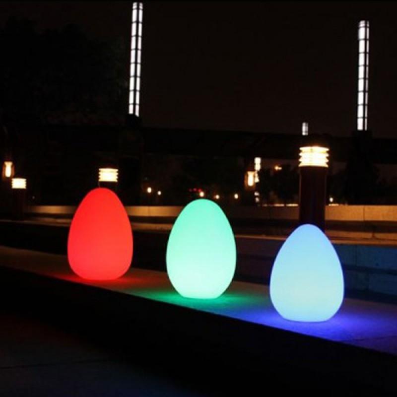 Huevo luminoso Lámpara LED