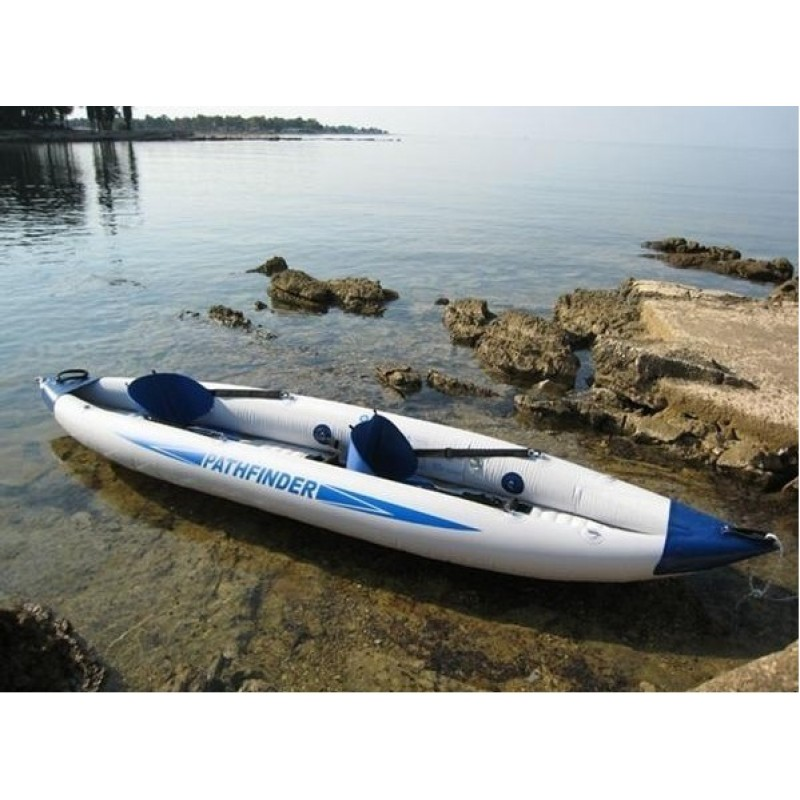 Kayak hinchable pathfinder outlet piscinas for Piscina canoe