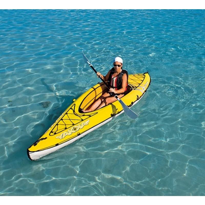 Kayak hinchable yakkair lite 1 outlet piscinas for Piscina canoe