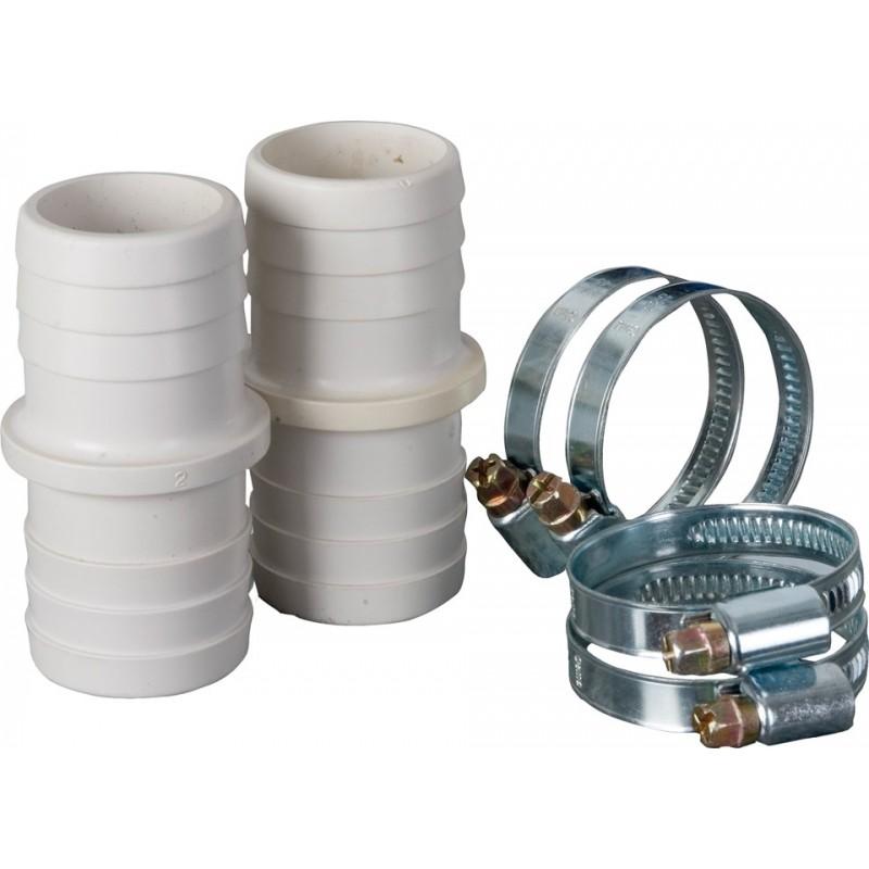 Kit conectores + abrazaderas Ø 38 mm