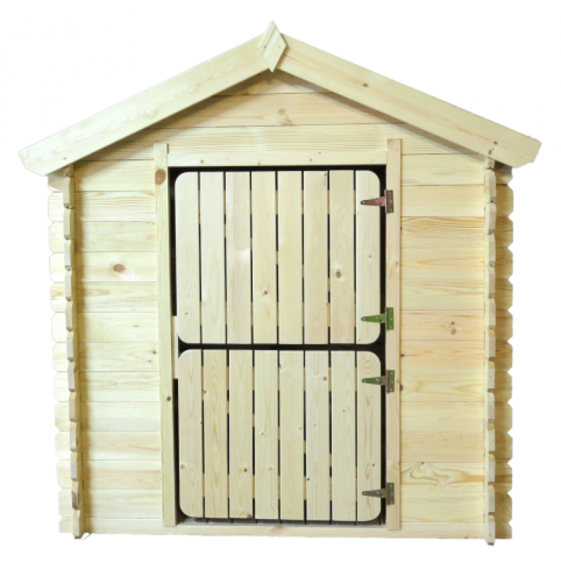 Casita infantil de madera para niños 105 x 130 x145 cm - KT12809