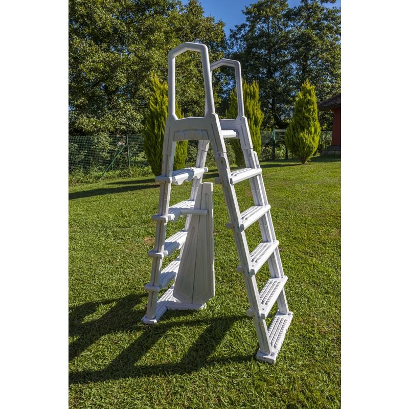 Escalera de seguridad de acero jardín - 3