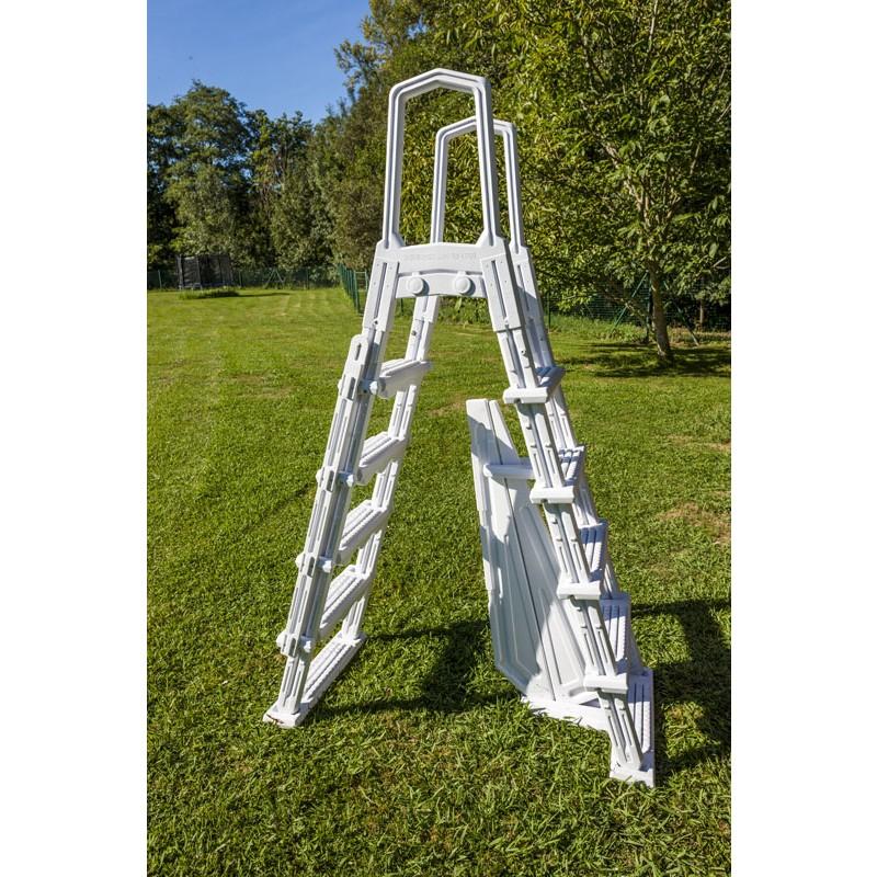 Escalera de seguridad de acero jardín - 4