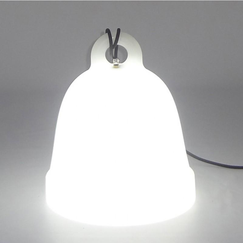 lámpara belly luz blanca