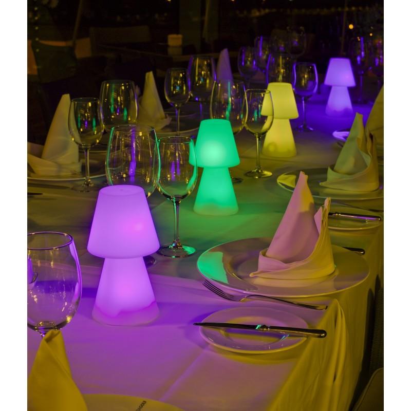 Lámpara Jardín Lola mini colores luz led