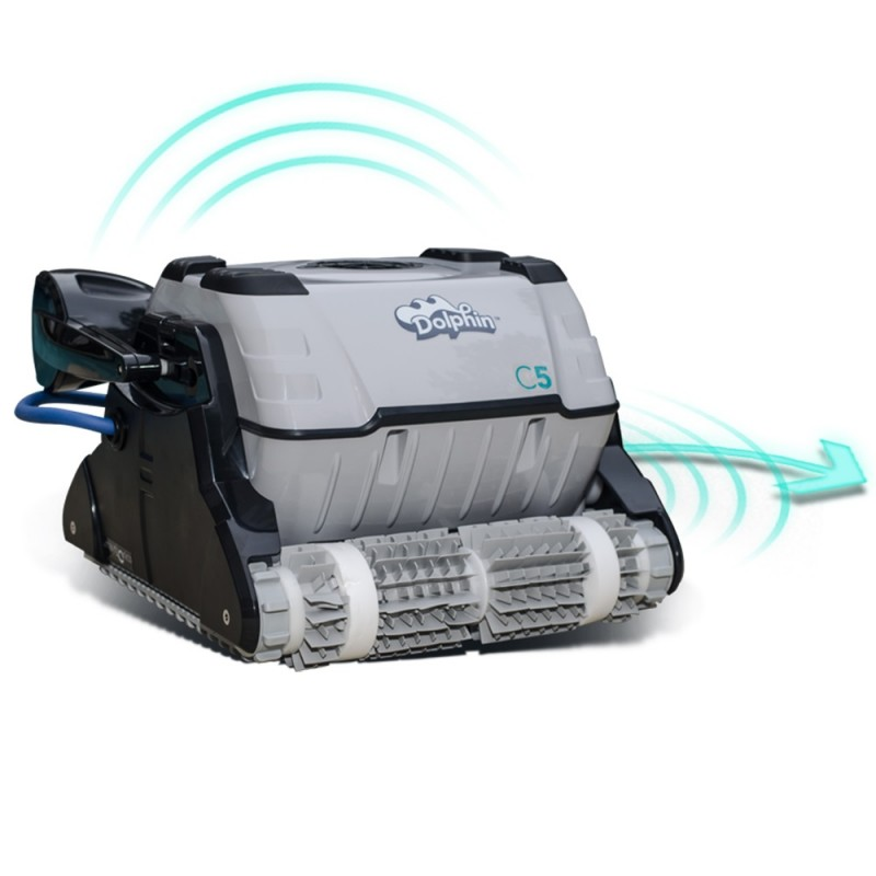 Robot Limpiafondos C5 Dolphin sistema