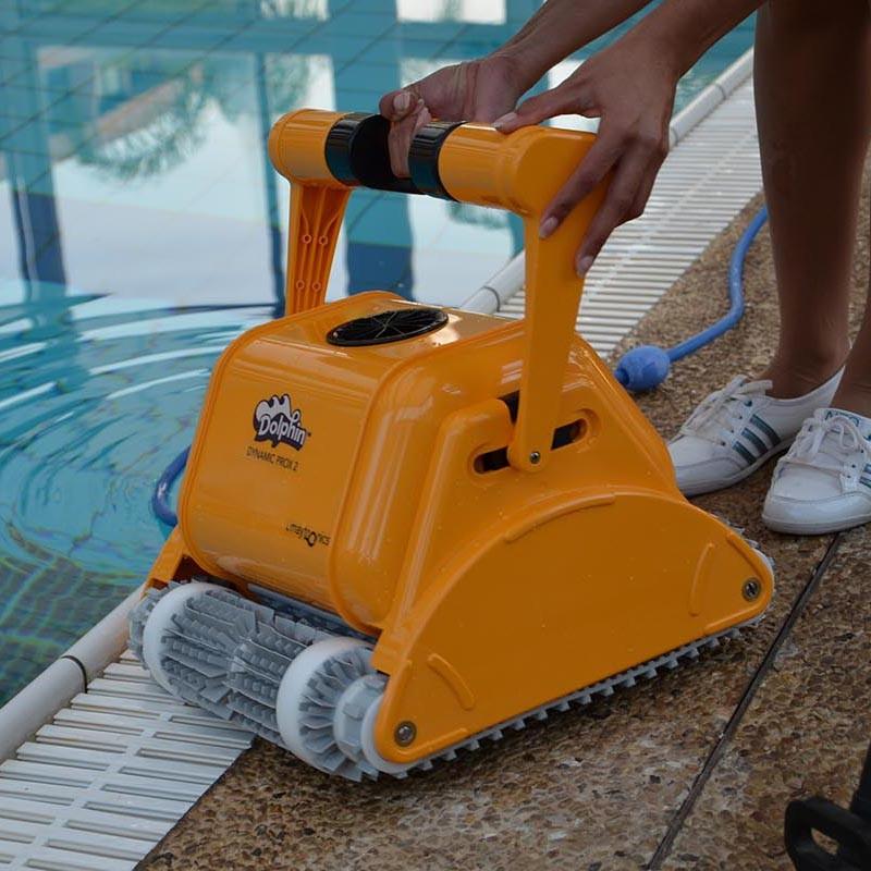 Limpiafondos Dolphin Dynamic Pro X2 piscina