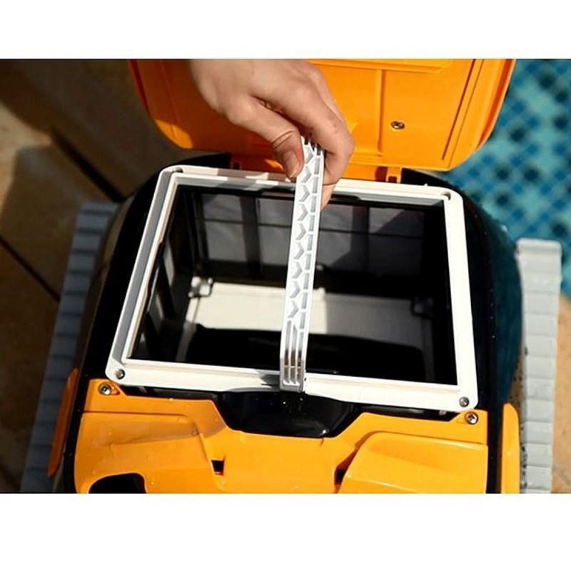 Limpiafondos de Dolphin E40i filtración