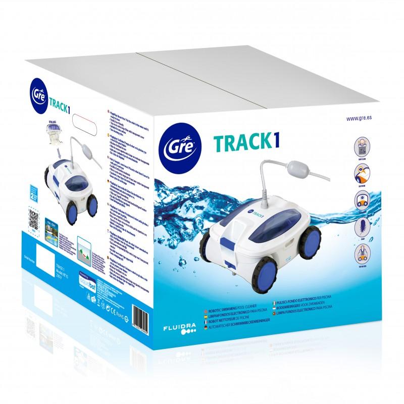 Embalaje Limpiafondos eléctrico Gre Track 1