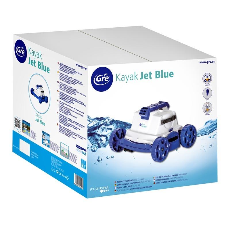 Embalaje Limpiafondos Kayak Jet Blue