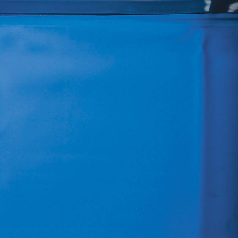 Liner azul Piscina enterrada Sumatra ovalada