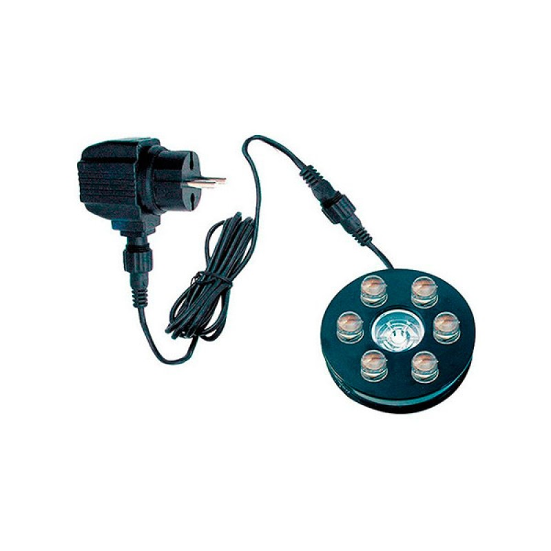 Luz sumergible 6 LEDS blanco