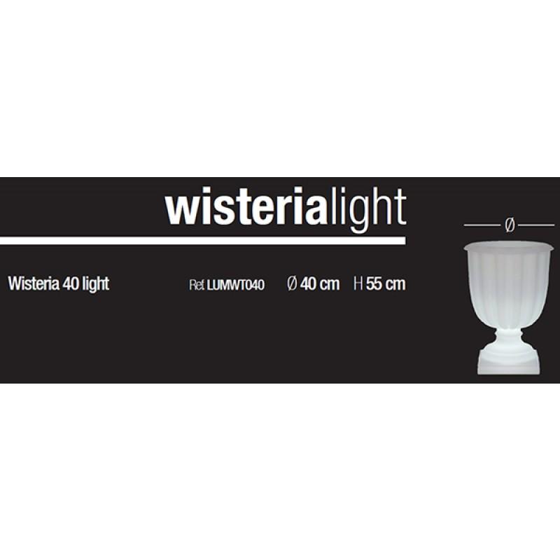medidas Botellero iluminado Wisteria