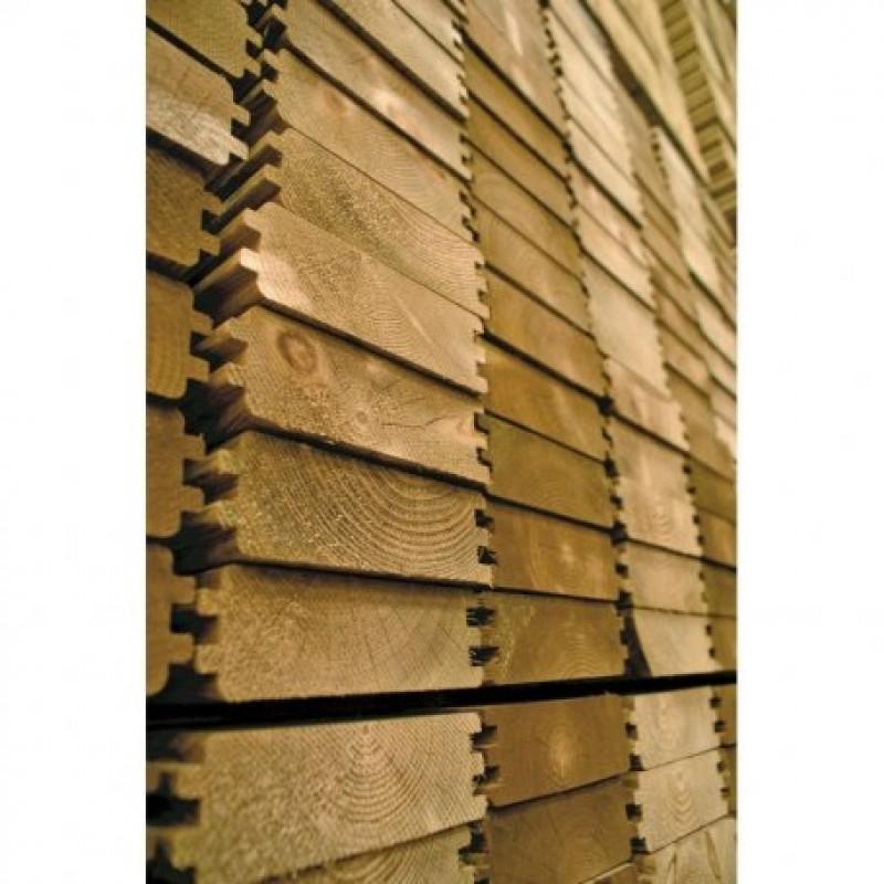 Piscina de madera Weva Rectangular