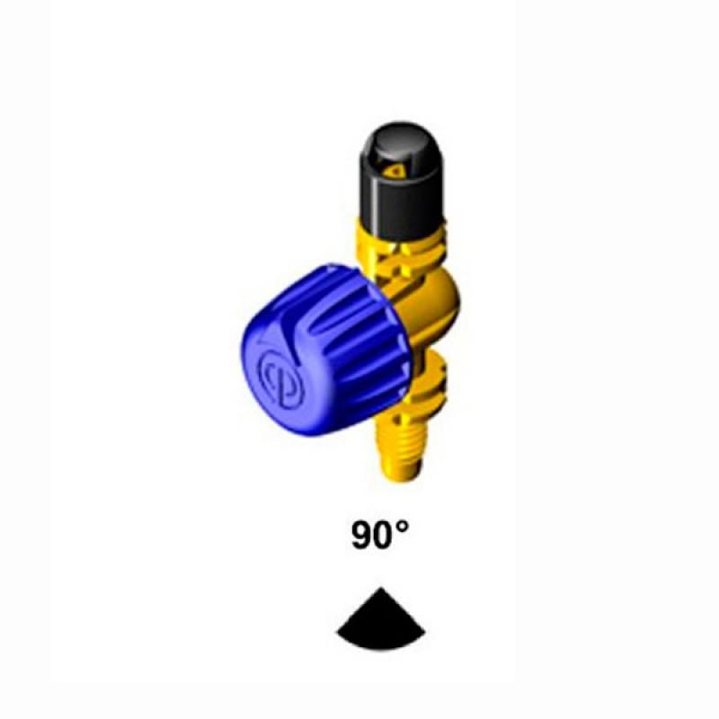 Microdifusor ajustable Rosca microrriego 90º