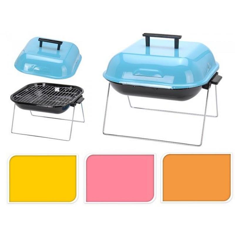 Colores Mini Barbacoa Portátil con Tapa