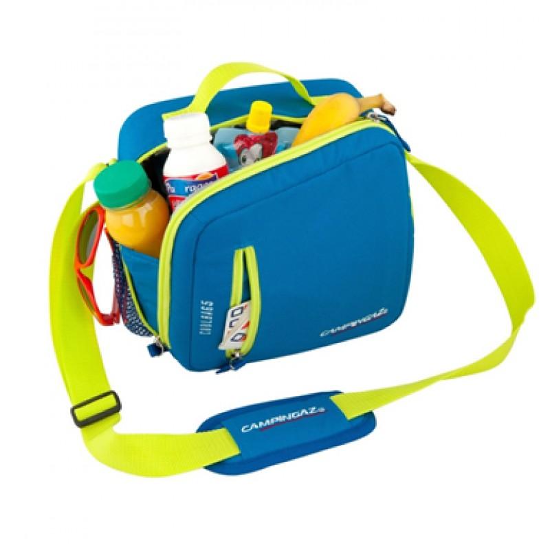 Nevera Portátil Coolbag Azul y Amarillo