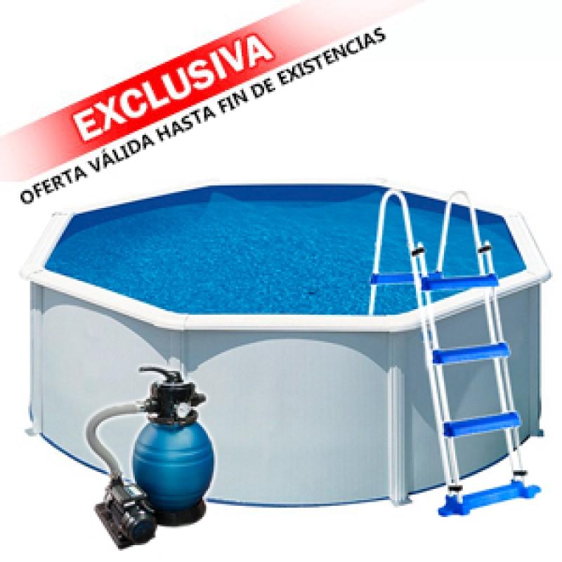 Piscina Desmontable Redonda Wet Outlet Piscinas