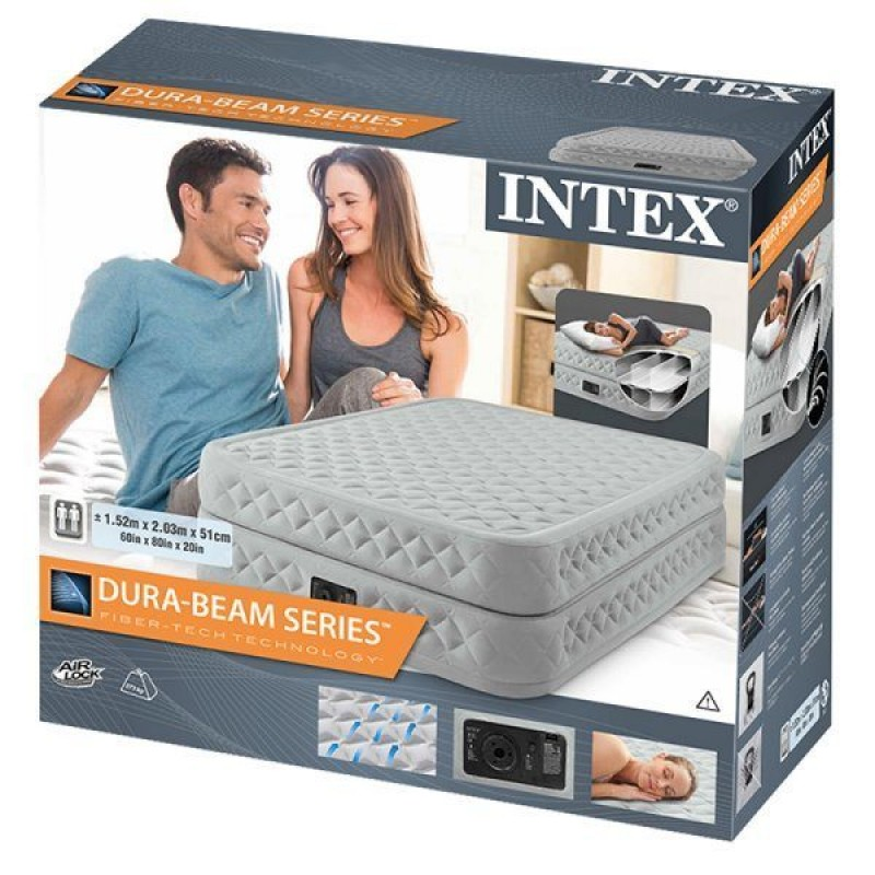 Embalaje de la cama de aire Intex