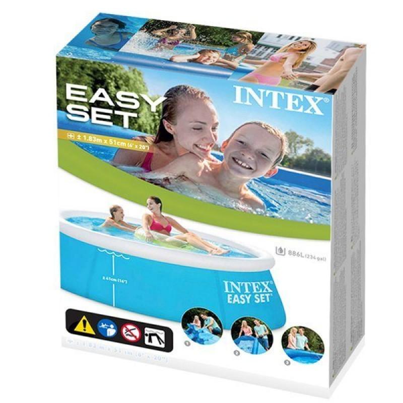 Embalaje Piscina Intex Easy Set