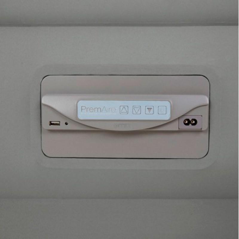 Puerto USB Cama Hinchable PremAire Fiber-Tech