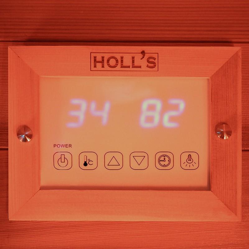 Panel de control Sauna infrarrojos Multiwave 3C