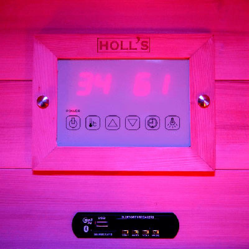 Panle de control Sauna de vapor Combi de acceso fácil