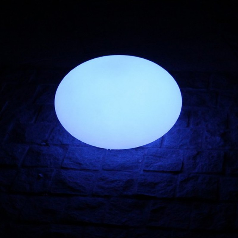 Piedra Luminosa Ovalada LED