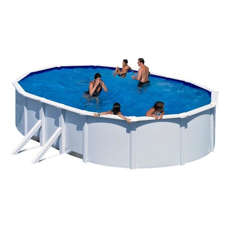 Piscina acero gre bali ovalada outlet piscinas for Piscina acero