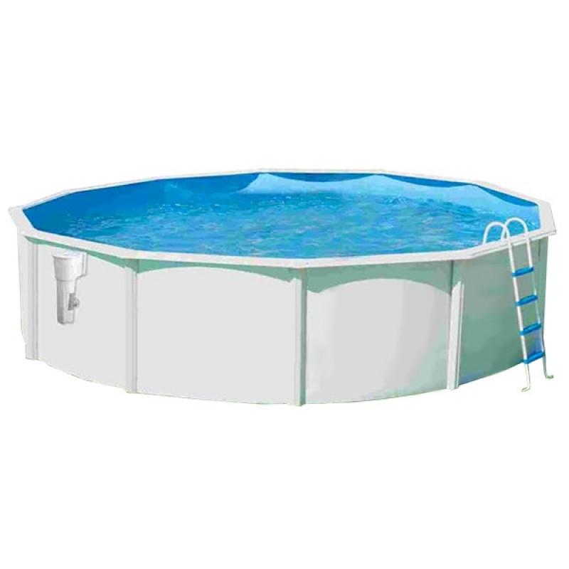 Piscina acero circular luna toi outlet piscinas for Piscina acero