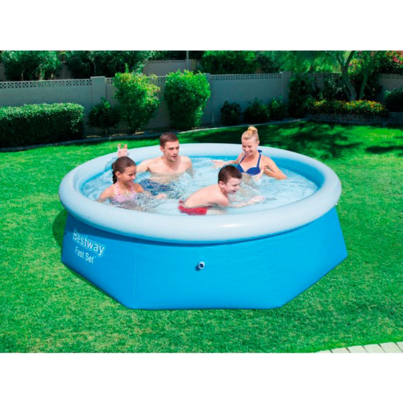 Piscina Hinchable Fast Set 244x66