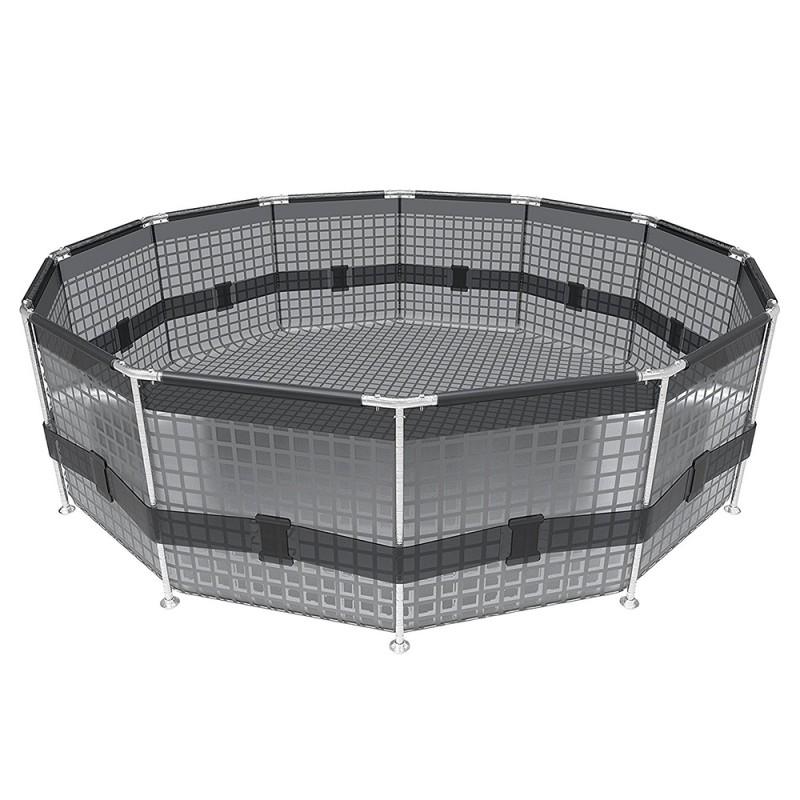 Piscina Bestway Steel Pro Max Ø 305 x 76 cm estructura tubular