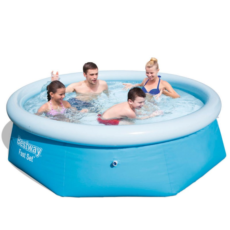 Piscina Hinchable Bestway Fast Set 244x66