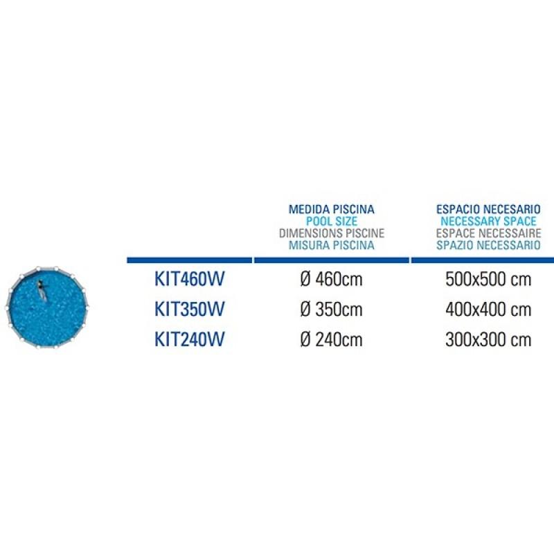 Espacio Necesario Piscina Pacific Circular