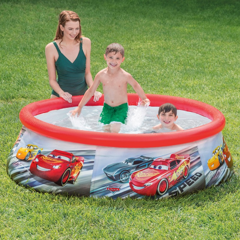 Piscina Hinchable Easy Set Cars Intex