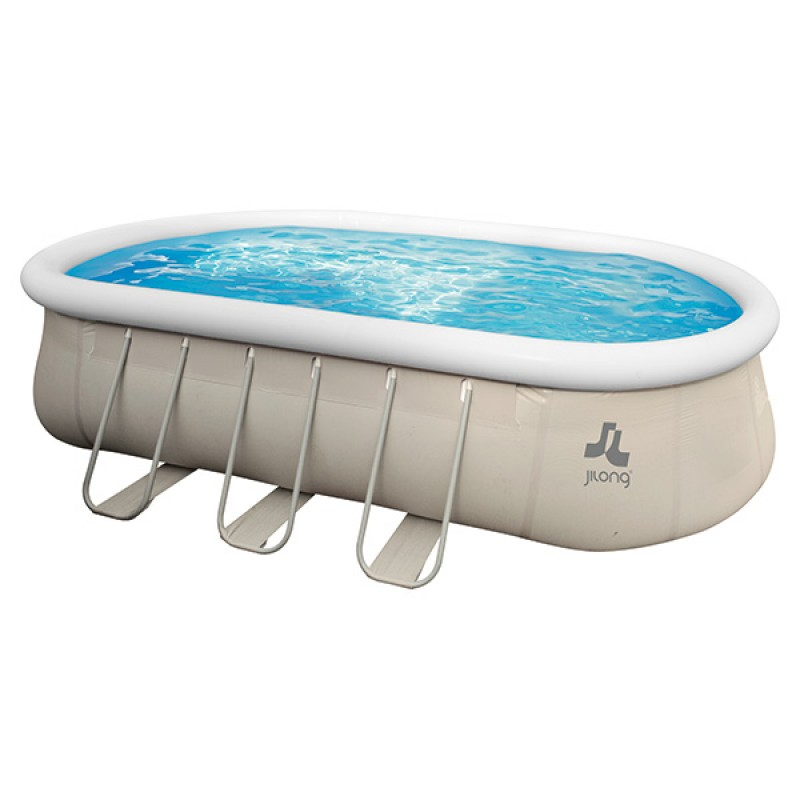 Piscina Hinchable Chínook Grey Jilong 610