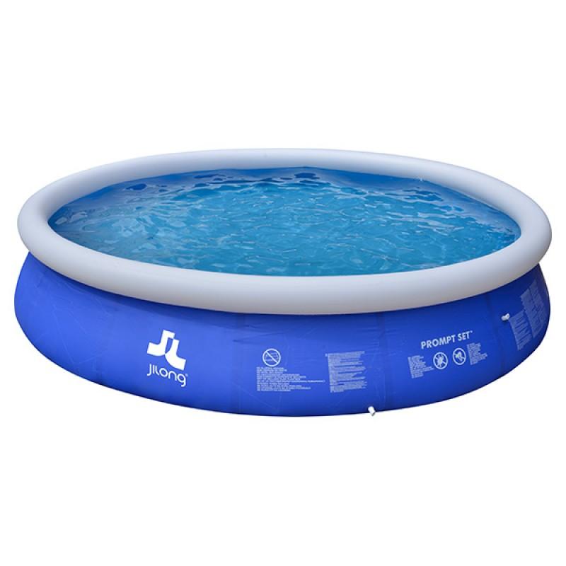 Piscina hinchable marín blue 450 x 90 cm jilong circular