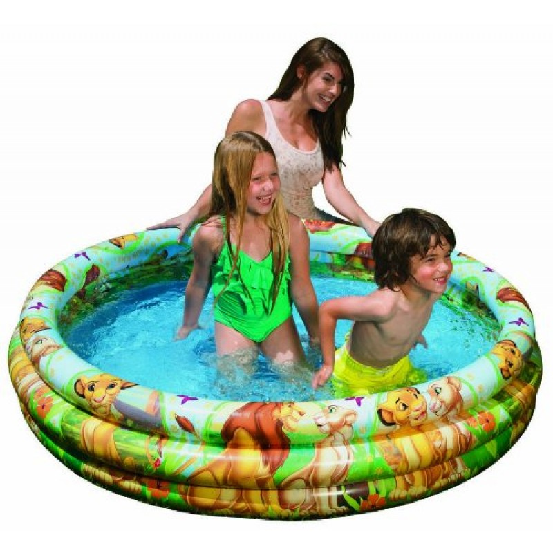 Piscina hinchable rey le n intex outlet piscinas for Piscinas desmontables hinchables