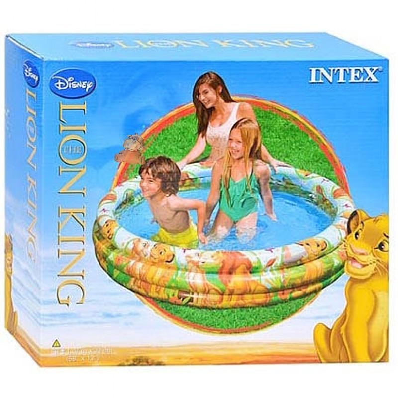 Piscina hinchable Rey León Intex-caja