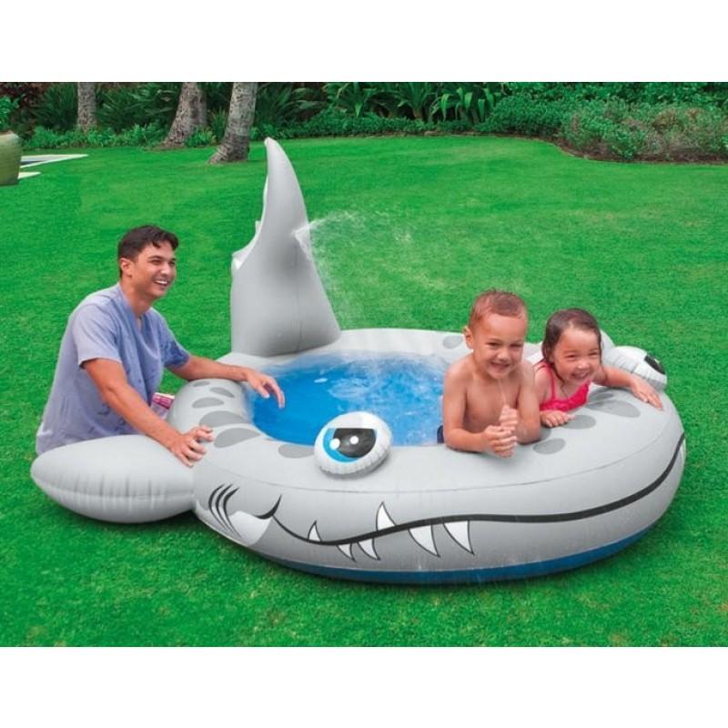 Piscina hinchable Tiburón Sandy Intex-2