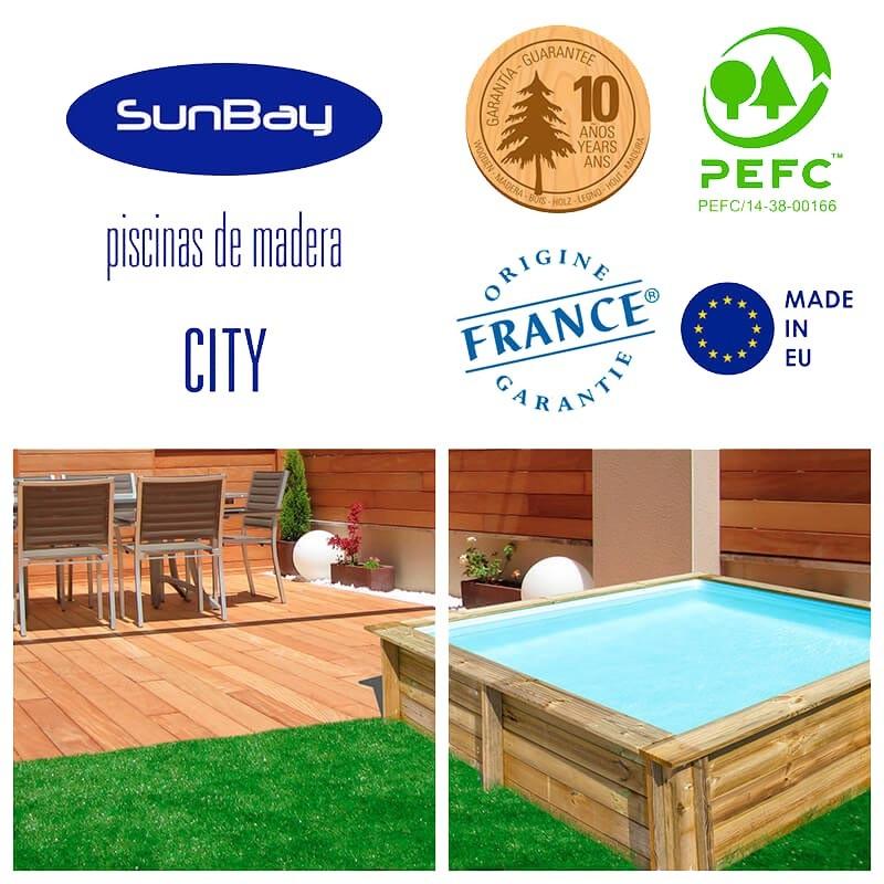 Certificados y piscina city
