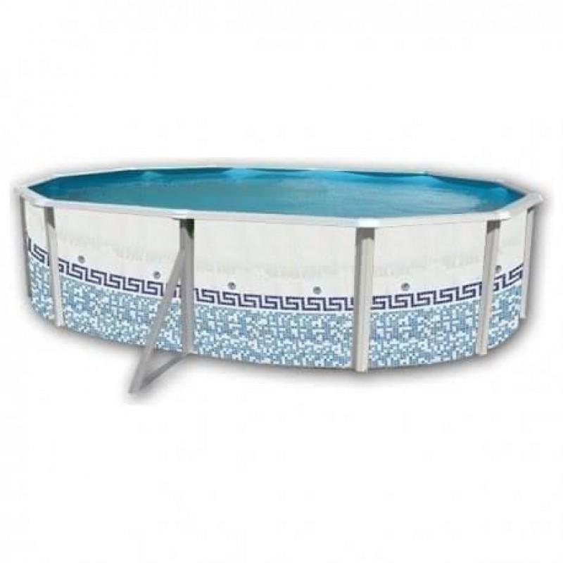 Piscina desmontable Mosaico Ovalada Toi 550 x 366 x 120 cm