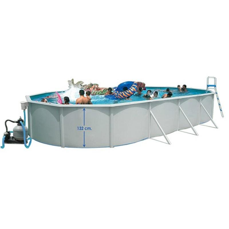 Piscina desmontable toi magnum ovalada outlet piscinas for Piscinas desmontables toi