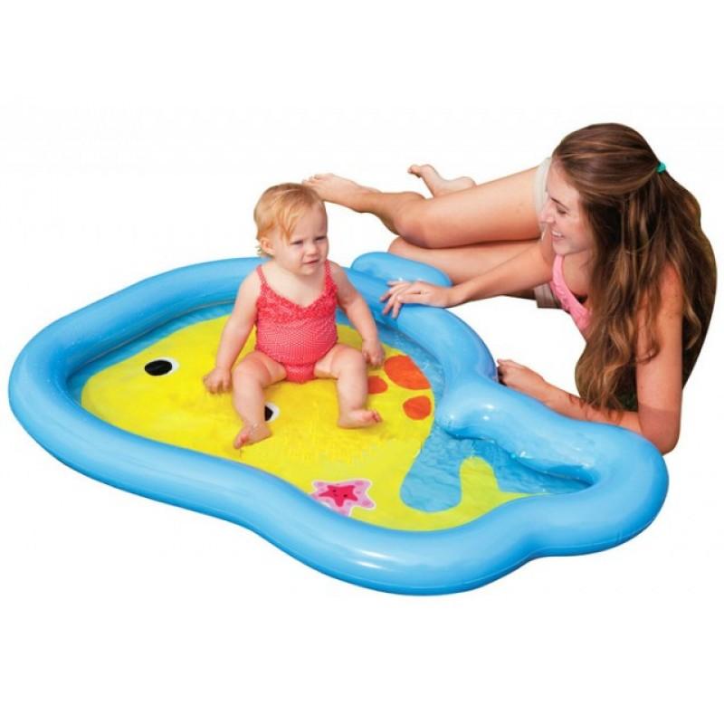 Piscina para beb ballenita intex outlet piscinas for Piscina hinchable bebe