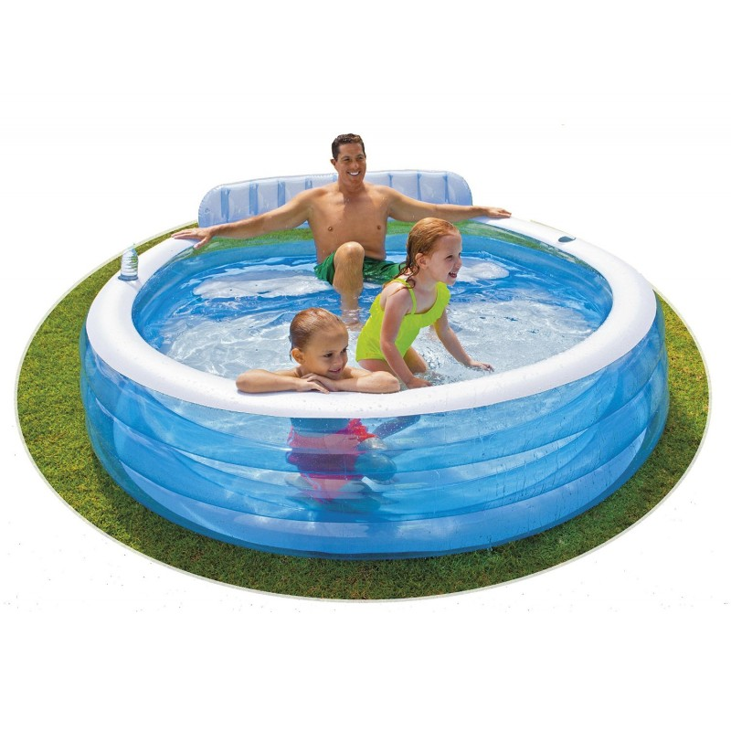 Piscina hinchable Familiar c/ Sillón 57190 Intex